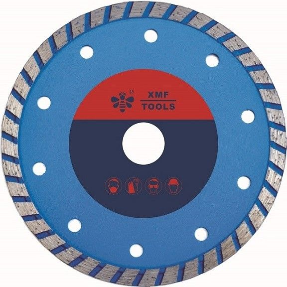 Porcelain  Concrete Diamond Stone Cutting Disc  150mm 180mm   Fast Speed Blue
